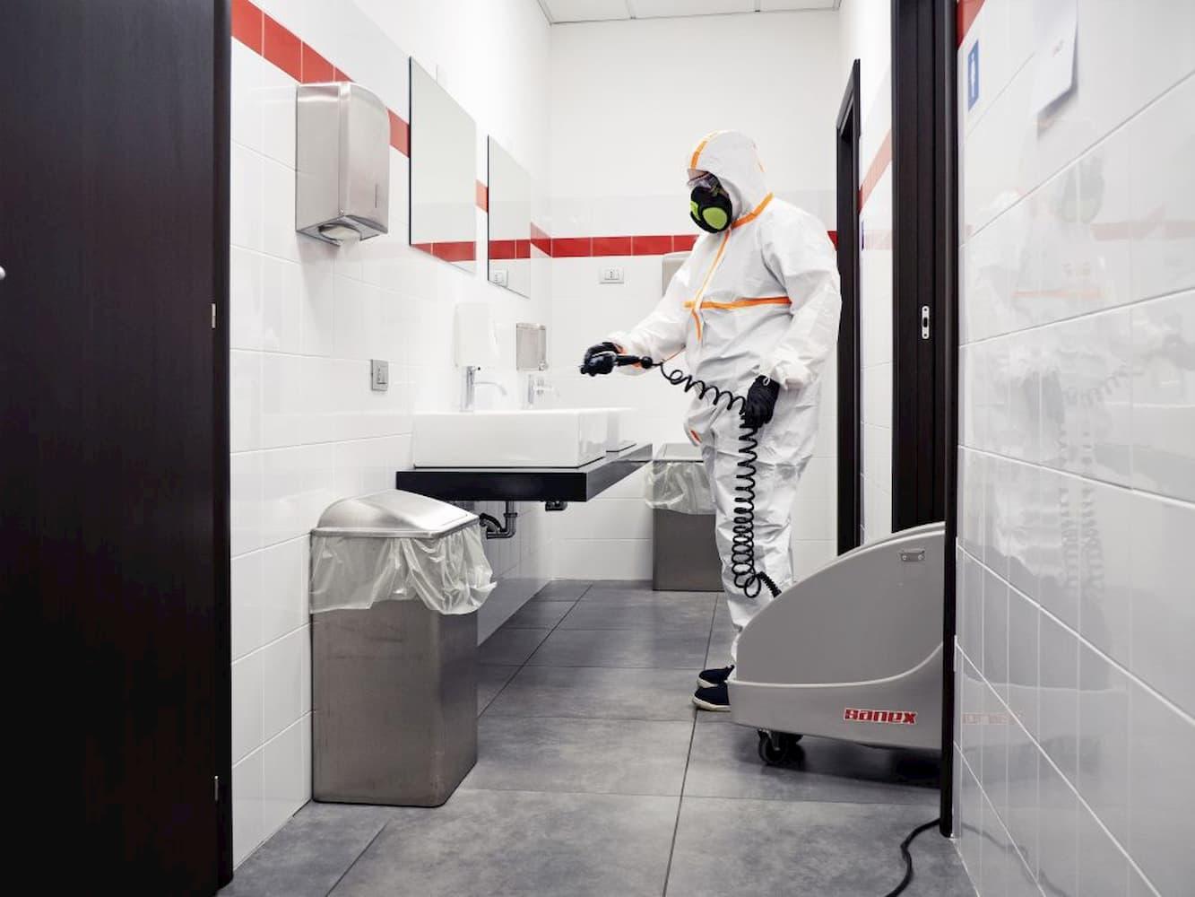 ¡Tenemos nueva máquina de desinfección para mejorar los métodos de higienización de locales y comercios! - Noirrac