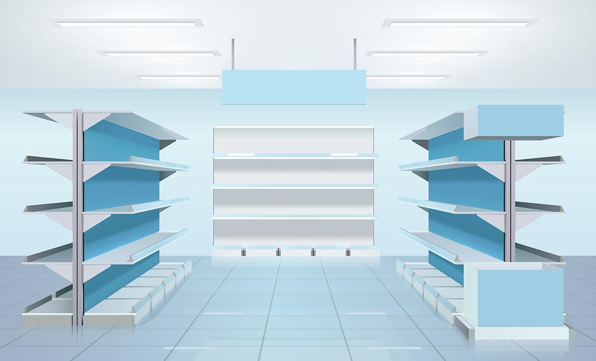 estanterías modulares para establecimientos comerciales